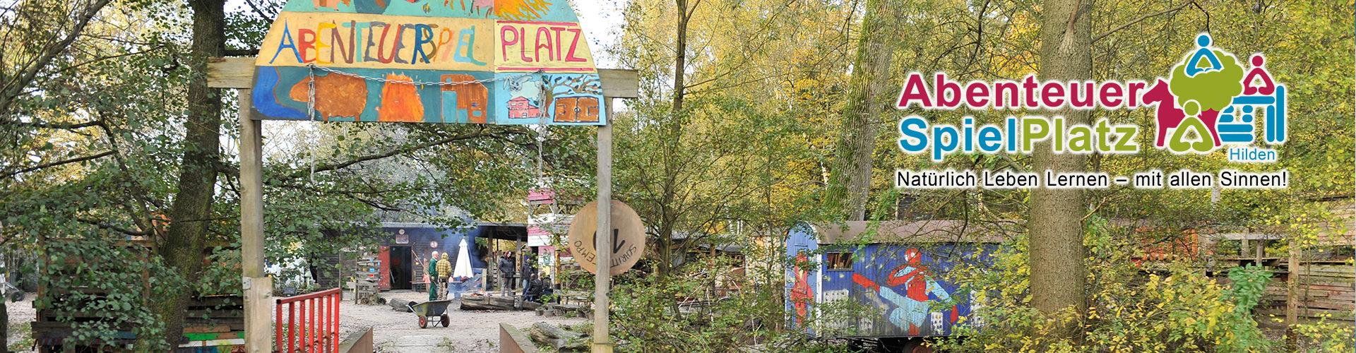 Abenteuerspielplatz Hilden Eingang